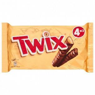 Конфеты Twix печенье/карамель в молочном шоколаде