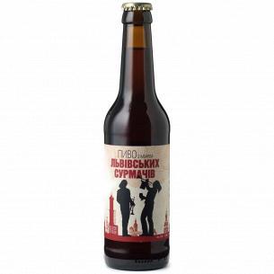 Пиво Правда Львовских трубачей полутемное