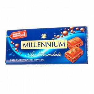 Шоколад молочный Millennium Premium пористый