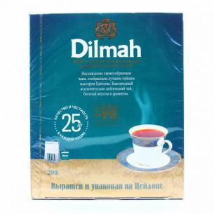 Чай Dilmah Премиум с ярлыком
