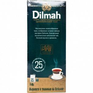 Чай Dilmah Преміум з ярликом