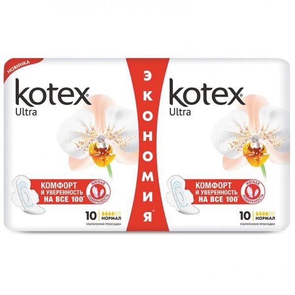 Прокладки гигиенические Kotex Extra Soft Normal Deo