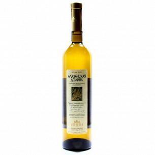 Вино Vardiani Алазанская долина белое полусладкое