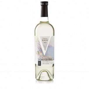 Вино Villa Krim Портофино белое полусладкое