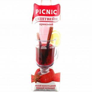 Напиток винный Picnic Глинтвейн высокогорный красный