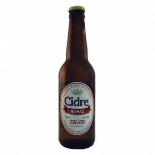 Сидр Cidre Royal яблочный полусладкий газированый стекло