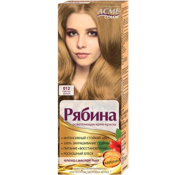 Краска для волос Acme №012 Светло-русый