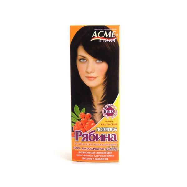 Краска для волос Acme №043 Темно-Каштановый