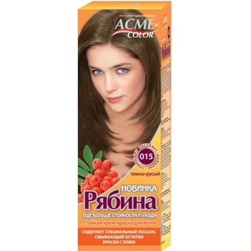Краска для волос Acme №015 Темно-Русый