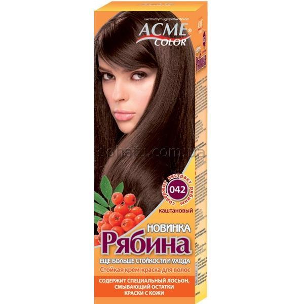 Краска для волос Acme №042 Каштановый