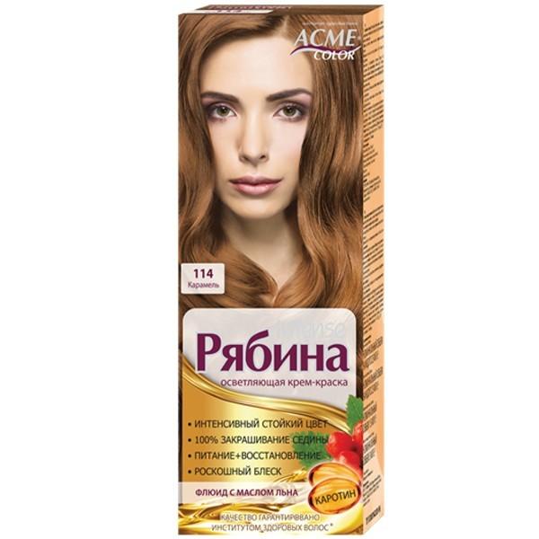 Краска для волос Acme №114 Карамель