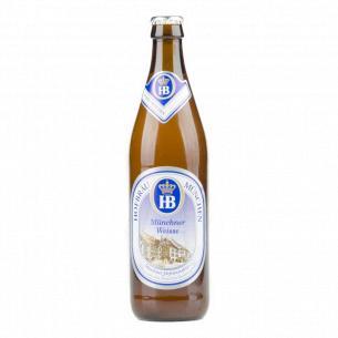 Пиво Hofbrau нефильтрованное