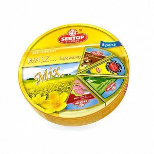 Сыр плавленый Sertop салями/грибы/зелень асорт 27%