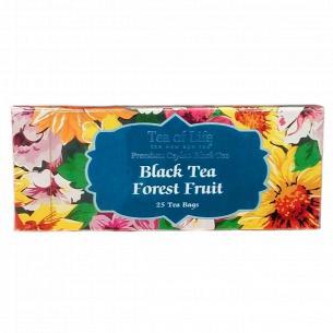 Чай черный Tea of Life Лесные ягоды байховый