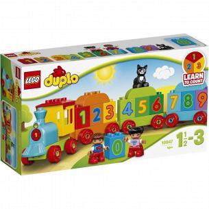 Конструктор Lego Поезд с цифрами 10847