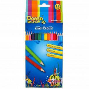 Набор цветных карандашей Keyroad 12шт