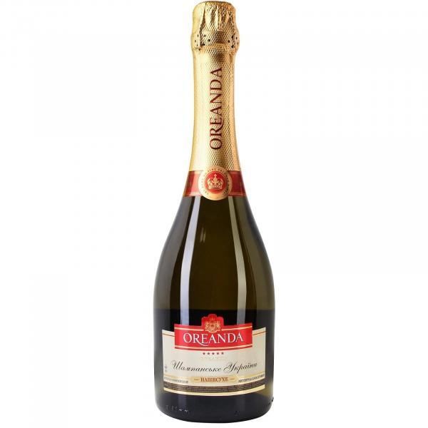 Шампанское Oreanda белое полусухое
