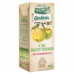 Сок Galicia яблочный неосветленный