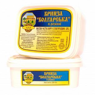 Сыр НАК Брынза Болгарская 30%