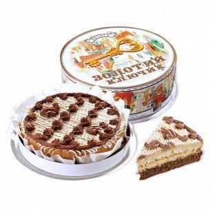 Торт Roshen Золотий ключик