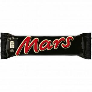 Батончик Mars с нугой и карамелью в молочн шоколад
