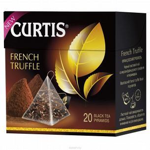 Чай черный Curtis Французский Трюффел доп рас сыр