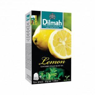 Чай чорний Dilmah Лимон