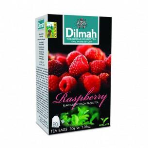 Чай чорний Dilmah Малина
