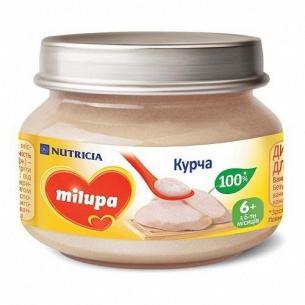 Пюре Milupa цыпленок