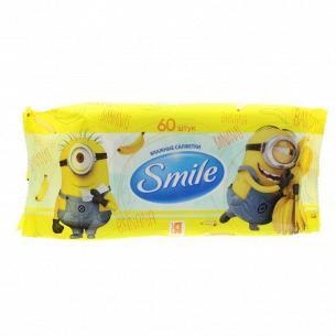 Салфетка влажная Smile Minions