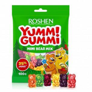 Конфеты Roshen Yummi Gummi Mini Bear Mix желейные