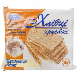 Хлебцы Хлібці-Удальці Бородинские ржаные