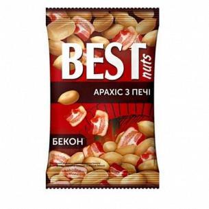 Арахис Best nuts жареный соленый со вкусом бекона