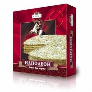 Коржи Мерси Наполеон для торта