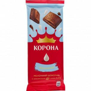 Шоколад молочный Корона без добавок