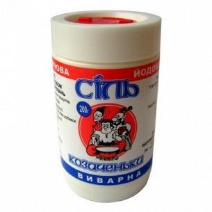 Соль Экстра кухонная йодированная