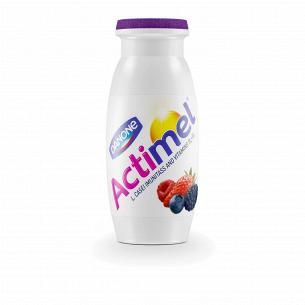 Продукт кисломолочный Actimel лесные ягоды 1,5% бутылка