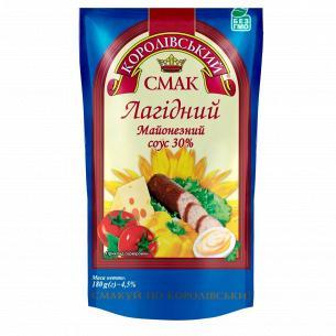 Соус Королівський смак Нежный майонезный 30% д/п