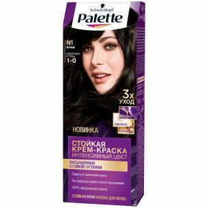 Palette ICC Краска для волос 1-0 (N1) Черный 110 мл