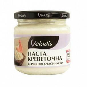 Паста креветочная Veladis сливочно-чесночная с/б