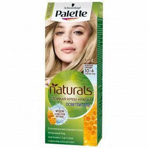 Palette Naturals (Фитолиния) Краска для волос 10-4 (254) Бежевый блондин 110 мл