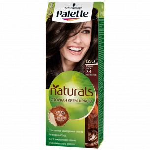 Palette Naturals (Фитолиния) Краска для волос 3-1 (850) Темный Шатен 110 мл