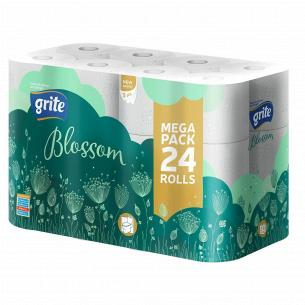 Бумага туалетная Grite Blossom