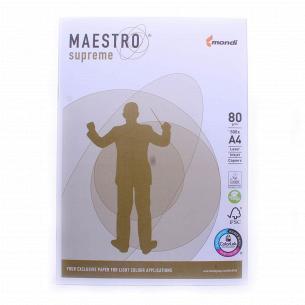 Бумага офисная Maestro Supreme А4 80г/м2 500лис