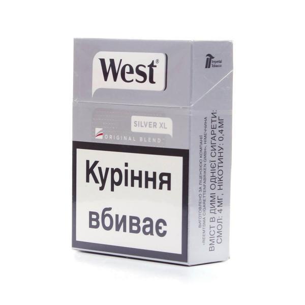 west silver сигареты купить