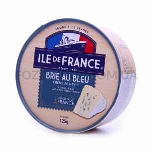 Сыр Ile de France Бри с голубой плесенью 50%