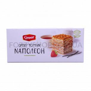 Торт Сладков Наполеон