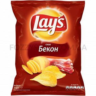 Чипсы Lay`s картофельные со вкусом бекона 71г