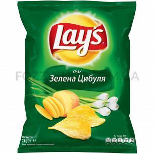 Чипсы Lay`s картофельные со вкусом молодого зеленого лука 71г