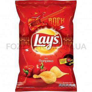 Чипсы Lay`s картофельные со вкусом паприки 133г